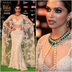 Celebrity Style,deepika padukone,Sabyasachi,Shaleena Nathani,IIFA 2016 So stunning - the makeup and the whole look 100%