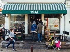 Winkel 43, eat in Amsterdam
