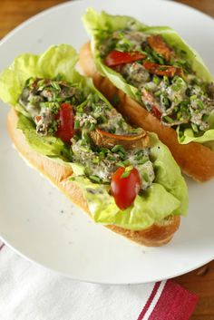 Vegetarian Lobster Rolls (use #vegan butter + mayo)