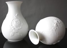 Shops, White Vases, Home Accessories, Porcelain, Etsy, Vintage, Shabby Chic, Decoration, Gallery
