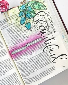 "342 Likes, 7 Comments - •Trudy Barker• {Trudeigh} (@colorsoffaith) on Instagram: ""LOVED @shannanoel doing a giveaway that involved journaling a page! This was a fun one to journal…"""