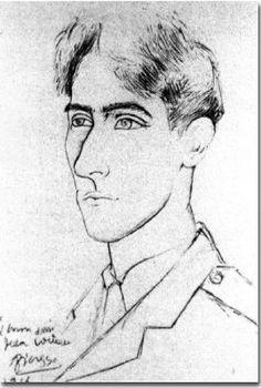 Jean Cocteau by Pablo Picasso  1916