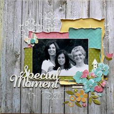 Simple Stories - Vintage Bliss Collection layout