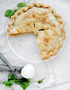 classic apple pie recipe for #30daysofapples