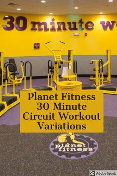 Planet Fitness 30 Minute Circuit Workout Variations