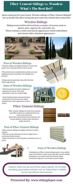 If you are about to get new sidings for your house with a more classic and timeless kind of appearance, wood sidings and fiber-cement sidings are the most prominent options. Though wood is one of the oldest used siding materials, the popularity of fiber-cement sidings too is not less. In fact, fiber-cement sidings are slowly replacing all other options.