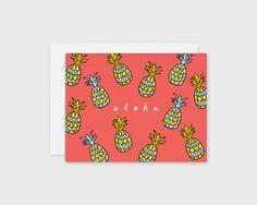 Aloha Pineapple Card – Nico Made