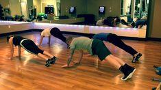 Dan Baldwin's Cha Cha Slide with Planks. Gotta try this!