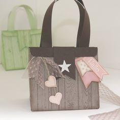 Eine Tasche mit dem Punchboard Geschenktueten