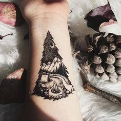 Cute Tattoos, Body Art Tattoos, Small Tattoos, Sleeve Tattoos, Awesome Tattoos, Tree Tattoo Sleeves, Forest Tattoo Sleeve, Unique Animal Tattoos, Medium Tattoos