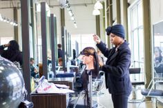 At PMTS Raleigh, Future Professionals learn the art of hair extensions!