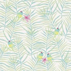 Rasch paperhangings 208801 Wallpaper Rasch Wallcovering, Green, Set of 12 Pieces Diy Tools, Wall Wallpaper, Stylus, Curtains, Green, Amazon, Color Azul, House, Mood
