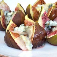 Figues rôties aux poires, Roquefort et miel : 45 recettes mi-figues mi-raisins…