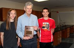 Teacher and students honored by American Chemistry Society