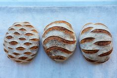 spelt sourdough on Flickr. sometimes it's nice to go 'off-piste' and try out some new scoring patterns. Our spelt sourdough gives such beautiful contrast, perfect for trying something a bit different.