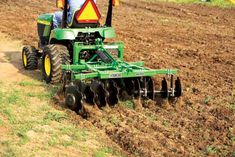 Whether you're looking to work the soil in a large garden or several acres of farmland, this primer on small-scale tillage equipment will help you get your ground ready for planting. Tractor Room, Pink Tractor, Adventure Gifts, Life Is An Adventure, Adventure Travel, Tractor Drawing, Small Tractors, Vintage Tractors, Small Farm