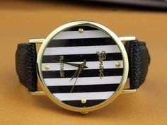 Hand made watch leather watch women wrist watch unises watch men wrist watch.