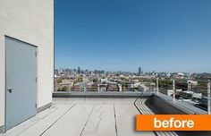 Before & After: A Roof Deck Transformation — Sweeten