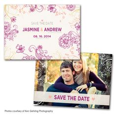 Bloom Lilac Save the Date Card Save The Date Photos, Save The Date Cards, Wedding Pics, Wedding Cards, Wedding Ideas, Save The Date Inspiration, Couple Photography, Photography Ideas