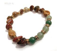 Βραχιόλι Ίασπης Picasso - mj52 Men's Style, Beaded Bracelets, Mens Fashion, Jewelry, Male Style, Moda Masculina, Manish Style, Man Fashion, Jewlery