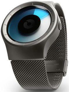 Ziiiro Celeste Gunmetal Mono Watch - Cool Watches from Watchismo.com