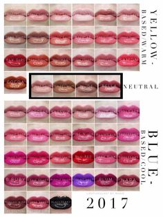 Warm, neutral, and cool colors of LipSense. I would love to tell you about the amazing products SeneGence offers. From skin care to LipSense, we have something for everyone. Message me to order or ask me how you can join my team. You can also find me at