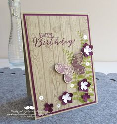 Sarah-Jane Rae cardsandacuppa: Stampin' Up! UK Order Online 24/7: A Butterfly Basics by Stampin' Up! Weekend: Day One