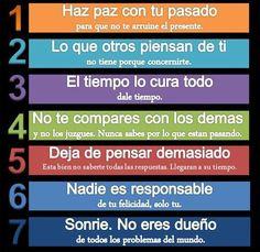 5 cosas para estar bien.
