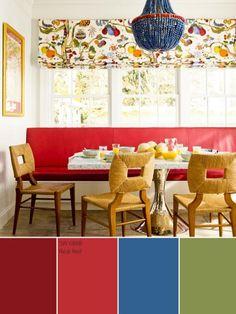 Crimson Red Color Palette