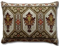 Ivo Tapestries Folk Embroidery, Cross Stitch Embroidery, Cross Stitch Patterns, Needlepoint Pillows, Needlepoint Canvases, Tapestry Kits, Chiffon, Lana, Diy And Crafts