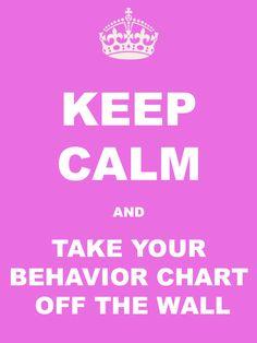 Why I Took My Behavi