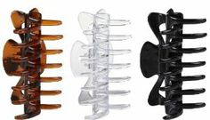 Goody Classics Large Rectangle Claw Clip (Pack of 3) by Goody Classics. $13.47. Large rectangle claw clips. Perfect for medium to long hair. Claw clips. Great for easily pulling up your hair into an updo. 3 Piece count. Goody is the World's most recognized manufacturer of hair styling tools and accessories and has been making hair look fabulous for over 100 years. Goody provides consumers with products inspired by the latest designer trends so they can enjoy style with val...