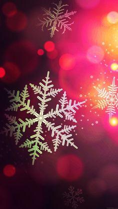Christmas Bokeh Holiday Pattern iPhone 6 Plus