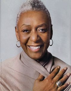 I think Bethann Hardison is so beautiful.  She proves that women can be sexy and exciting at any age.
