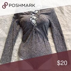 Lace Sweater, Sleek Look, Plus Fashion, Fashion Tips, Fashion Trends, Lace Detail, Gray Color, Dress Up, Bodysuit