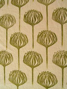 Lovely protea lino print. Jezze Prints: prints