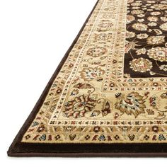 Hand-tufted Primeval Brown Oriental Rug (7'7 x 10'6) | Overstock.com Shopping - The Best Deals on 7x9 - 10x14 Rugs