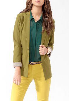 Longline Jacket | LOVE21 - 2005757312