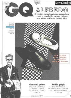 #GQ Italia - Maggio 2014  In primo piano, il #mocassino firmato #NeroGiardini