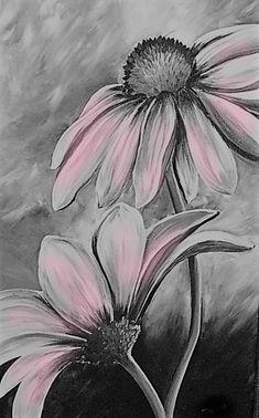 Texture Painting On Canvas, Acrylic Painting Flowers, Wood Painting Art, Fabric Painting, Painting & Drawing, Diy Canvas, Canvas Art, Arte Disney, Ideas