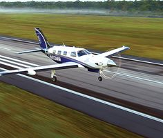 Piper M600, a substantially upgraded version of the Meridian turboprop, follows in the footsteps of the pioneering TBM 700. Credit;