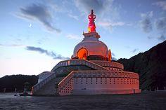 Shanti Stupa in Leh, Ladakh #withMsBee