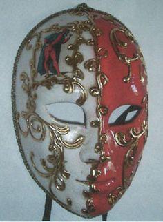 Pantalone Masks - Handmade Venetian Masks from Venice, Italy - 1001 Venetian Masks