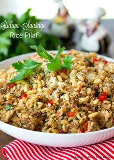 This tasty Italian Sausage Rice Pilaf is an incredible way to rock your side dish options. It's amazing as an accompaniment alongside chicken or pork and also serves as a mighty tasty bed for grilled kabobs. It's packed with flavor and if I had to make a comparison it would be to that New Orleans...Read More »