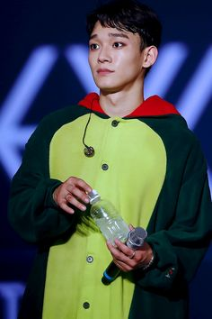 looking cute even when terrified af #chenthings