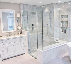132 ultra modern master bathroom ideas to inspire your next renovation - page 28 > Homemytri. Modern Master Bathroom, Small Bathroom, Bathroom Ideas, Bathroom Designs, Master Baths, Bathroom Organization, Master Bathroom Layout, Minimal Bathroom, Bathroom Bath