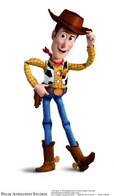Toy Story- Woody the Cowboy Walt Disney, Disney Toys, Disney Art, Disney Pixar, Disney Characters, Story Characters, Toy Story Movie, Toy Story Party, Toy Story Birthday