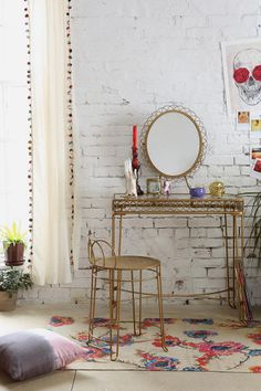 Plum & Bow Wire Loop Vanity $159.00 from Urban Outfitters