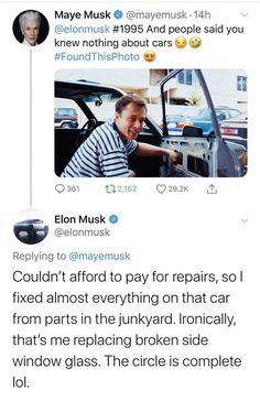 Classic Elon Musk...