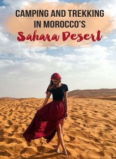 Camping and Trekking in the Sahara Desert